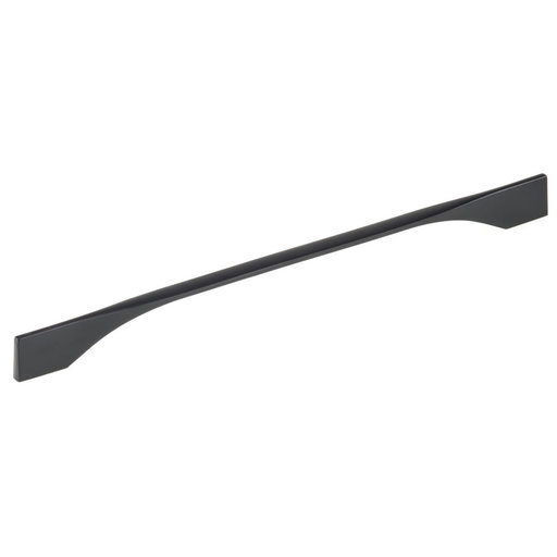 """View a Larger Image of Contemporary Pull, 11-3/8"""" to 12-5/8"""" Center-to-Center, Matte Black"""
