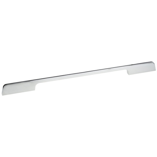 """View a Larger Image of Contemporary Pull, 12-5/8"""" Center-to-Center, Chrome"""
