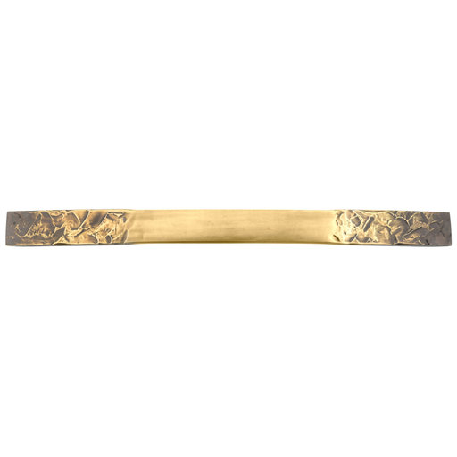 """View a Larger Image of Contemporary Pull, 12-5/8"""" Center-to-Center, Industrial Brass"""