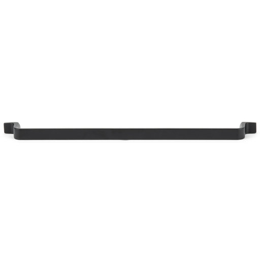 """View a Larger Image of Contemporary Pull, 12-5/8"""" Center-to-Center, Matte Black"""