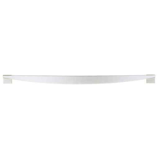 """View a Larger Image of Contemporary Pull, 12-5/8"""" Center-to-Center, Matte Chrome"""
