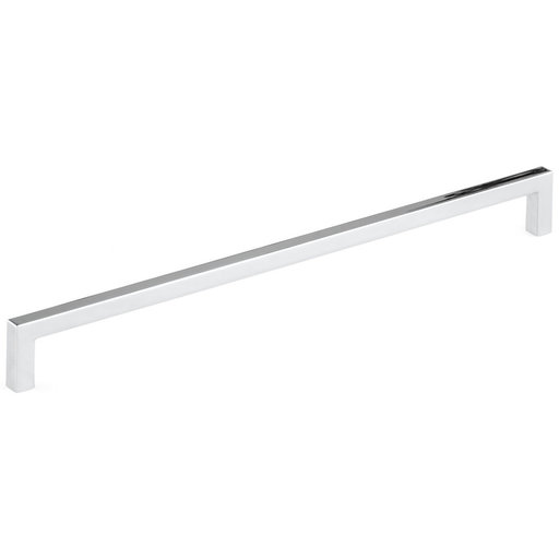 """View a Larger Image of Contemporary Pull, 12-5/8"""" Center-to-Center, Polished Nickel"""