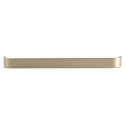 """View a Larger Image of Contemporary Pull, 13-7/8"""" Center-to-Center, Gabiano Bronze"""