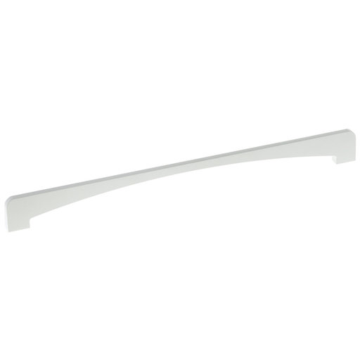 """View a Larger Image of Contemporary Pull, 13-7/8"""" Center-to-Center, White"""