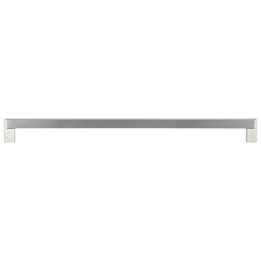 """View a Larger Image of Contemporary Pull, 15-1/8"""" Center-to-Center, Brushed Nickel"""