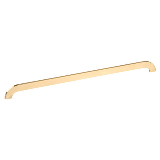 """View a Larger Image of Contemporary Pull, 17-5/8"""" Center-to-Center, Brushed Gold"""
