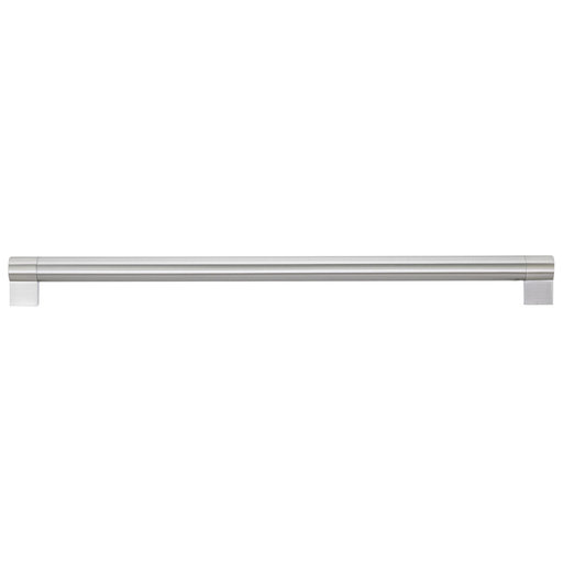 """View a Larger Image of Contemporary Pull, 17-5/8"""" Center-to-Center, Brushed Nickel"""