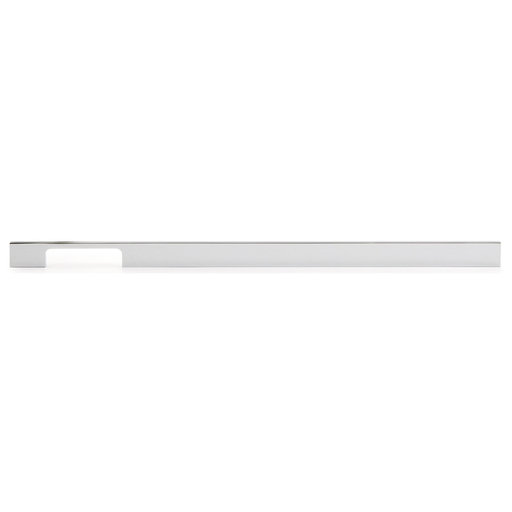 """View a Larger Image of Contemporary Pull, 18-7/8"""" Center-to-Center, Chrome"""