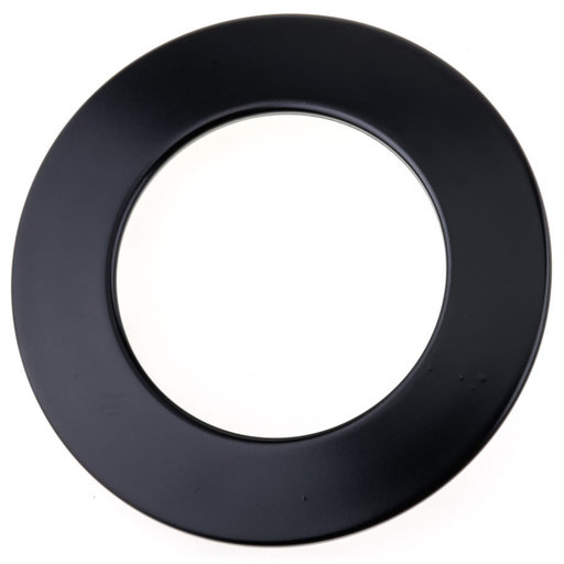 """View a Larger Image of Contemporary Pull, 2-1/2"""" Center-to-Center, Black"""