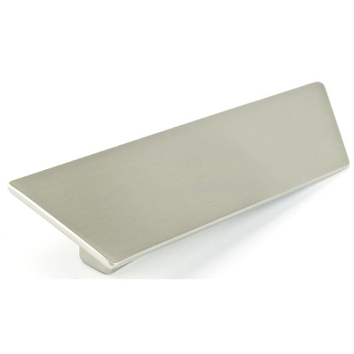 """View a Larger Image of Contemporary Pull, 2-1/2"""" Center-to-Center, Brushed Nickel"""
