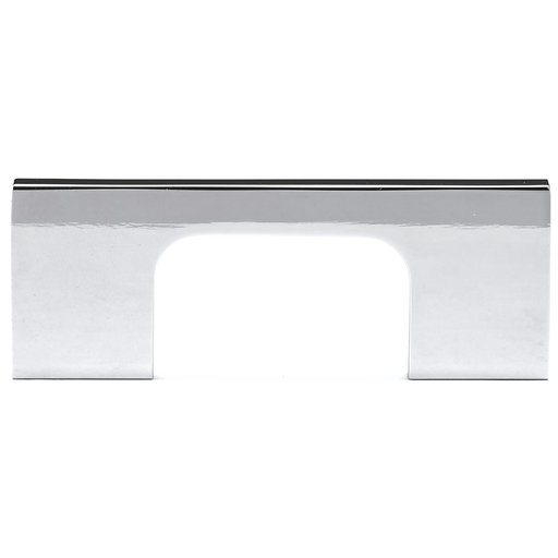 """View a Larger Image of Contemporary Pull, 2-1/2"""" Center-to-Center, Chrome"""