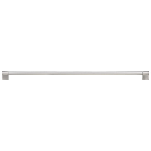 """View a Larger Image of Contemporary Pull, 22-5/8"""" Center-to-Center, Brushed Nickel"""