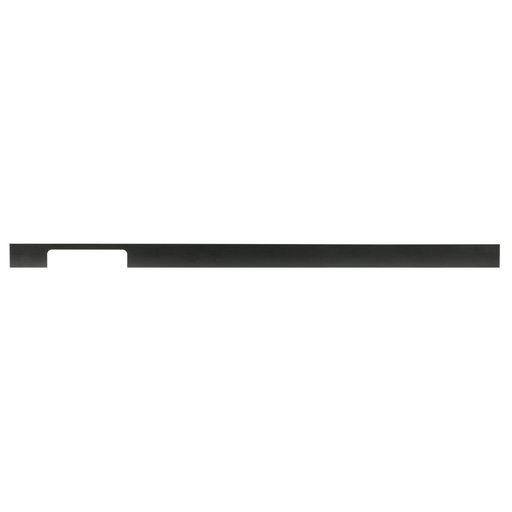 """View a Larger Image of Contemporary Pull, 25-1/4"""" Center-to-Center, Matte Black"""