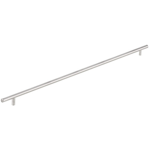 """View a Larger Image of Contemporary Pull, 25-1/8"""" Center-to-Center, Brushed Nickel"""