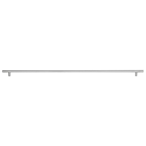 """View a Larger Image of Contemporary Pull, 28-1/8"""" Center-to-Center, Brushed Stainless Steel"""