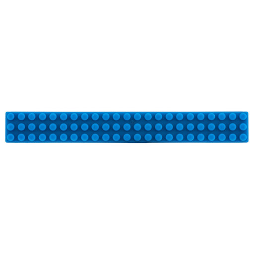 """View a Larger Image of Contemporary Pull, 3-3/4"""" Center-to-Center, Blue"""