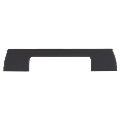"""View a Larger Image of Contemporary Pull, 3-3/4"""" Center-to-Center, Brushed Oil-Rubbed Bronze"""