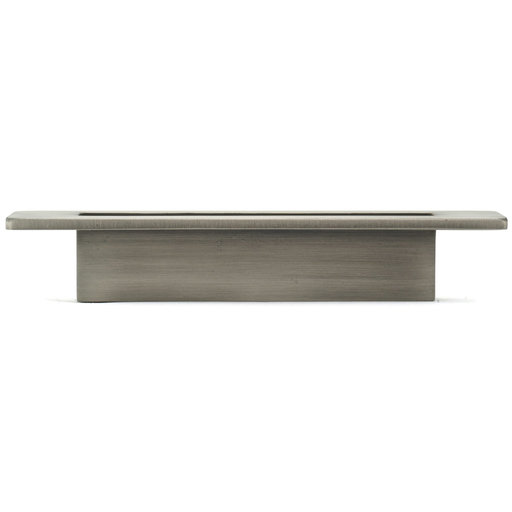 """View a Larger Image of Contemporary Pull, 3-3/4"""" Center-to-Center, Brushed Pewter"""