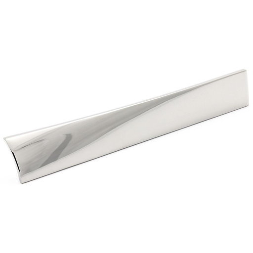 """View a Larger Image of Contemporary Pull, 3-3/4"""" Center-to-Center, Chrome"""
