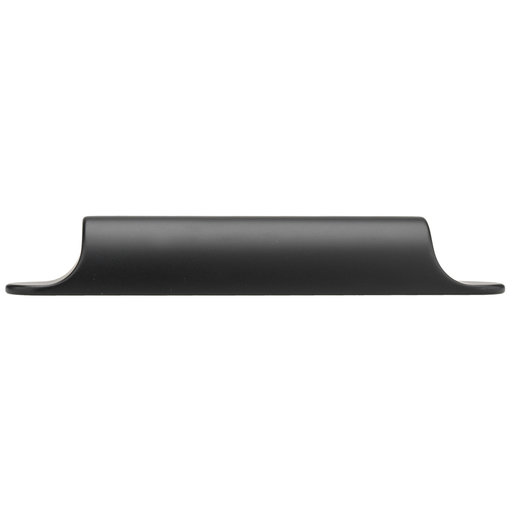 """View a Larger Image of Contemporary Pull, 3-3/4"""" Center-to-Center, Matte Black"""
