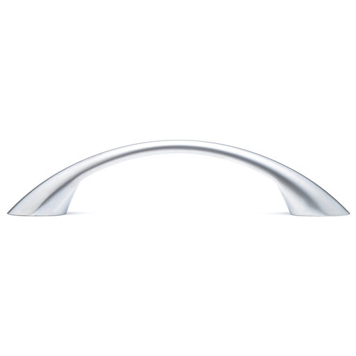 """View a Larger Image of Contemporary Pull, 3-3/4"""" Center-to-Center, Matte Chrome"""