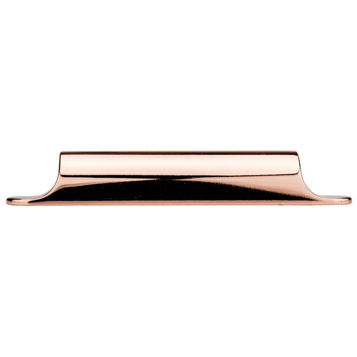 """View a Larger Image of Contemporary Pull, 3-3/4"""" Center-to-Center, Polished Copper"""