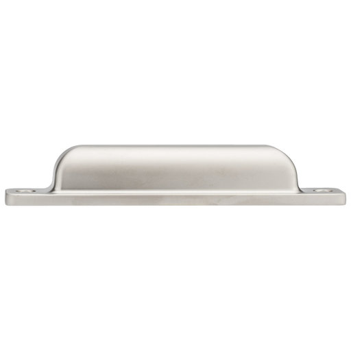 """View a Larger Image of Contemporary Pull, 3-3/4"""" Center-to-Center, Satin Nickel"""