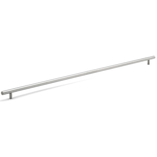 """View a Larger Image of Contemporary Pull, 31-1/8"""" Center-to-Center, Brushed Stainless Steel"""