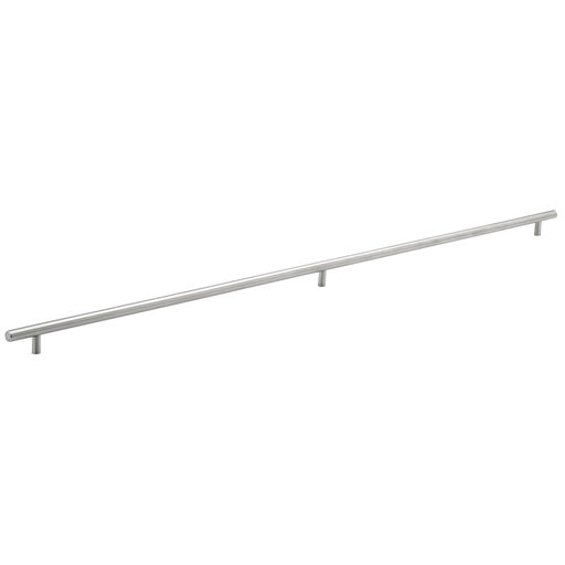 """View a Larger Image of Contemporary Pull, 37-1/8"""" Center-to-Center, Brushed Stainless Steel"""