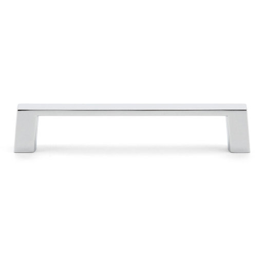 """View a Larger Image of Contemporary Pull, 4"""" Center-to-Center, Chrome"""