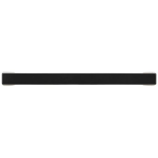 """View a Larger Image of Contemporary Pull, 4"""" Center-to-Center, Matte Black"""