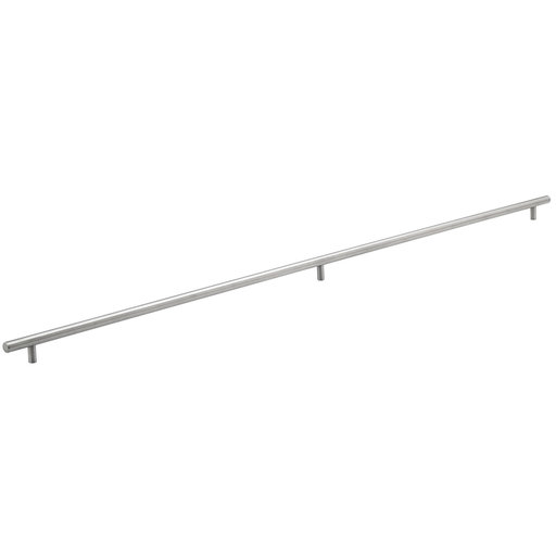 """View a Larger Image of Contemporary Pull, 40-1/8"""" Center-to-Center, Brushed Stainless Steel"""