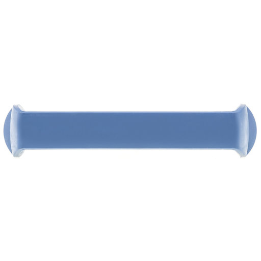 """View a Larger Image of Contemporary Pull, 5-1/16"""" Center-to-Center, Blue"""
