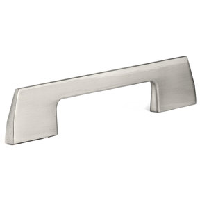 """Contemporary Pull, 5-1/16"""" Center-to-Center, Brushed Nickel"""
