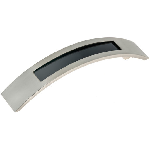 """View a Larger Image of Contemporary Pull, 5-1/16"""" Center-to-Center, Brushed Nickel"""