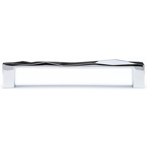 """View a Larger Image of Contemporary Pull, 5-1/16"""" Center-to-Center, Chrome"""