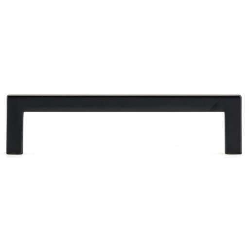 """View a Larger Image of Contemporary Pull, 5-1/16"""" Center-to-Center, Matte Black"""