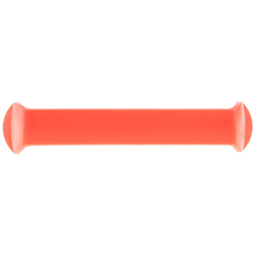 """View a Larger Image of Contemporary Pull, 5-1/16"""" Center-to-Center, Red"""