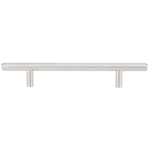 """View a Larger Image of Contemporary Pull, 5-1/16"""" Center-to-Center, Stainless Steel"""