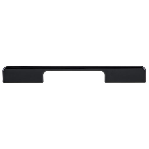 """View a Larger Image of Contemporary Pull, 5-1/16"""" to 7-9/16"""" Center-to-Center, Black"""