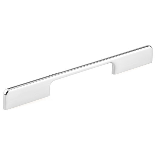 """View a Larger Image of Contemporary Pull, 5-1/16"""" to 7-9/16"""" Center-to-Center, Chrome, Low Luster"""