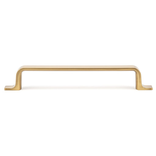 """View a Larger Image of Contemporary Pull, 6-5/16"""" Center-to-Center, Aurum Brushed Gold"""