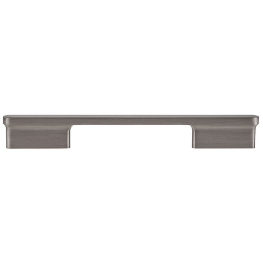 """View a Larger Image of Contemporary Pull, 6-5/16"""" Center-to-Center, Brushed Black Nickel"""