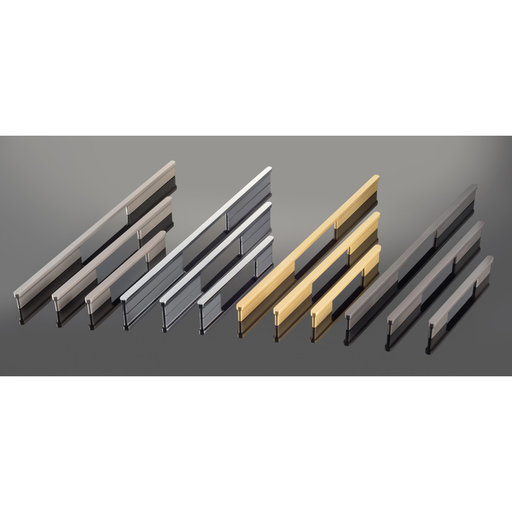 """View a Larger Image of Contemporary Pull, 6-5/16"""" Center-to-Center, Brushed Nickel"""