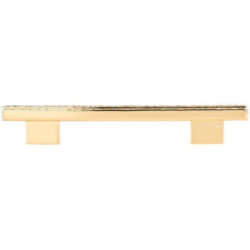 """View a Larger Image of Contemporary Pull, 6-5/16"""" Center-to-Center, Gold"""