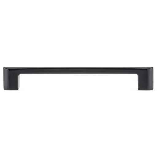 """View a Larger Image of Contemporary Pull, 6-5/16"""" Center-to-Center, Matte Black"""