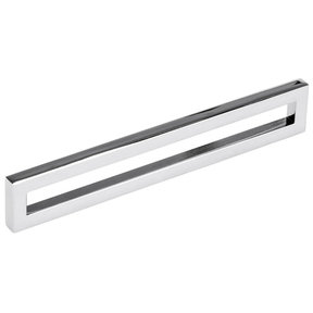 """Contemporary Pull, 6-5/16"""" Center-to-Center, Polished Nickel"""