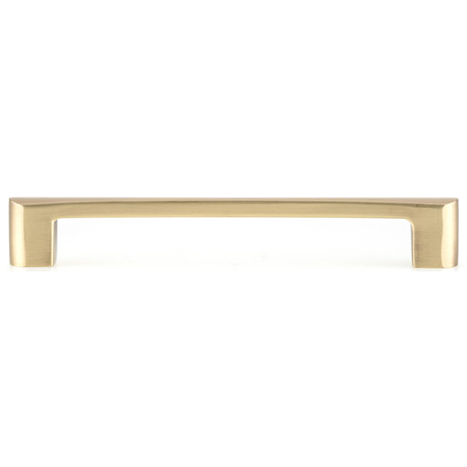 """View a Larger Image of Contemporary Pull, 6-5/16"""" Center-to-Center, Satin Brass"""