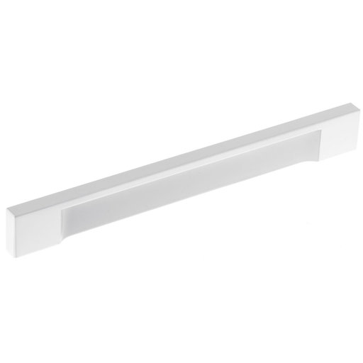 """View a Larger Image of Contemporary Pull, 6-5/16"""" Center-to-Center, White"""