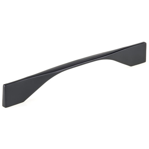 """View a Larger Image of Contemporary Pull, 6-5/16"""" or 7-9/16"""" Center-to-Center, Matte Black"""